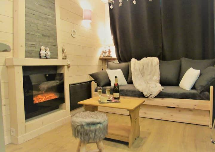 Val thorens  appartement  2 ch avec belle vue sud