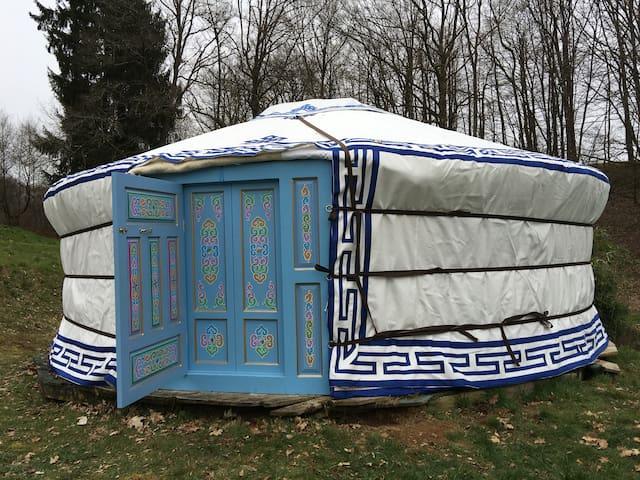 campement nomade de yourtes - Angoisse
