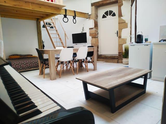 Studio au coeur de Chalon sur Saône
