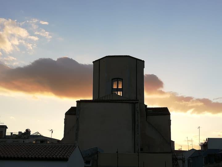 La Giudecca, a terrace in the heart of Ortigia