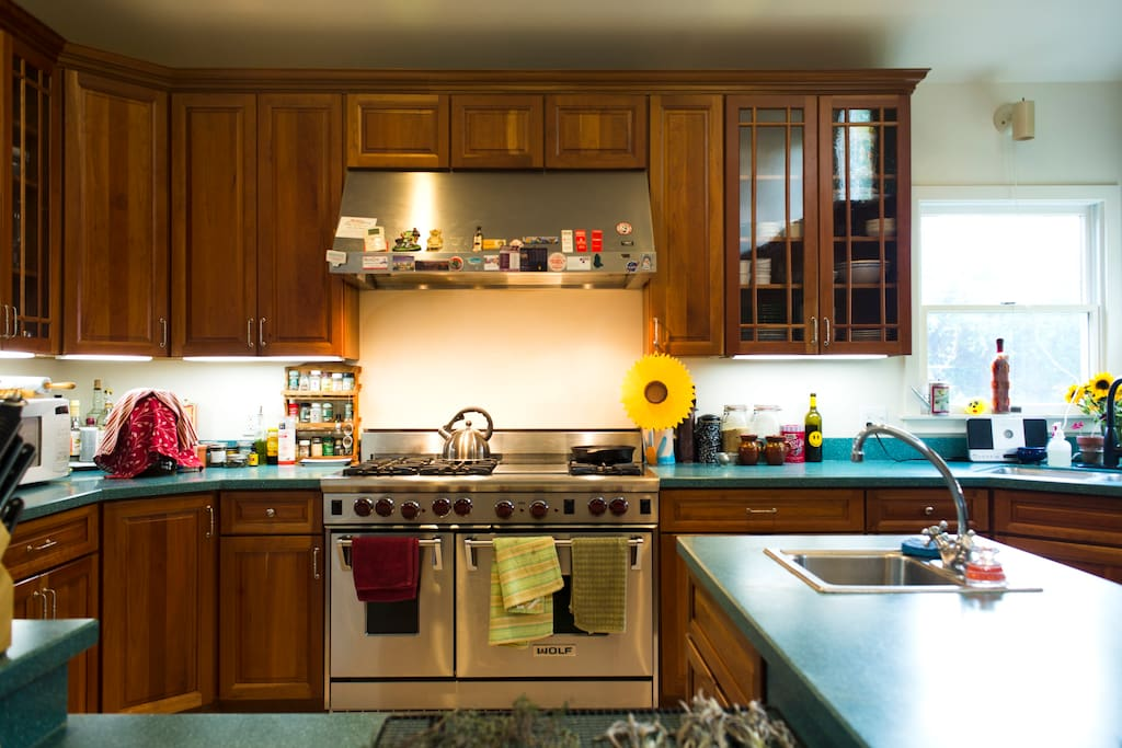 great kitchen - ideal for those who like to cook