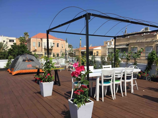 Jaffa Rooftop Camping- TLV's best kept secret