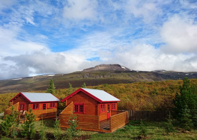 Stora Sandfell Rooms and Cottages - One-Bedroom Bungalow with Private Bathroom