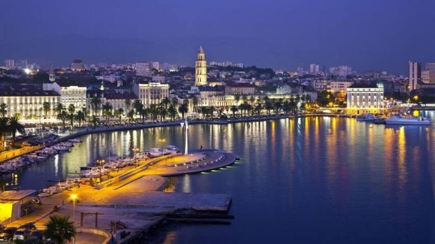 Apartment holidays in Split