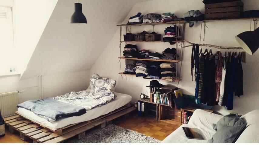 Traumhaftes Zimmer (20 qm) in WG in Konstanz