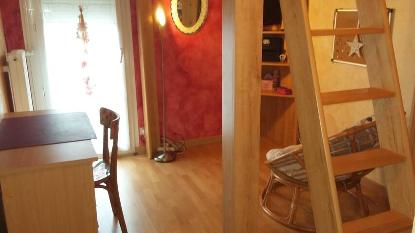 Chambre meublée au calme - Marsannay-la-Côte - Rumah
