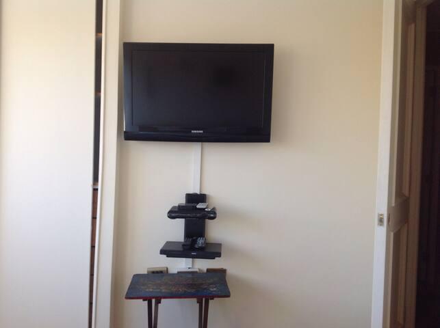 TV y netflix en la habitación