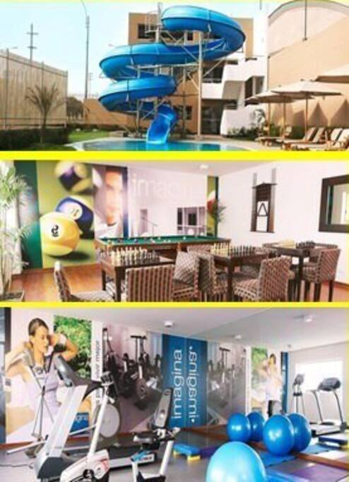 Club House (Pool, Billiards, Gym)