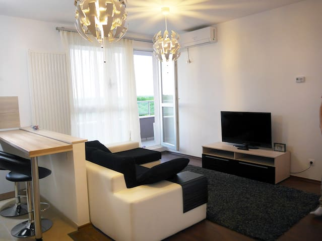 Modern apartment with amazing view - Timișoara - Apartemen