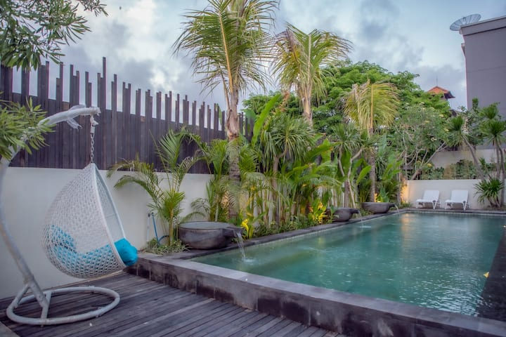 LOYOT Spacious Studio W/ Kitchen at Legian, Bali