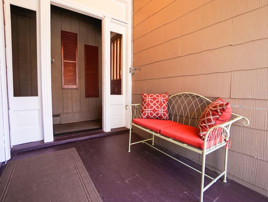 Maison Etoile Entry Bench