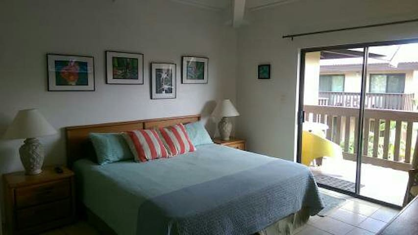King Size Bed with Balcony access!