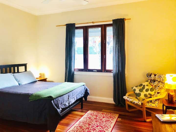Lovely double room with private luxury bathroom