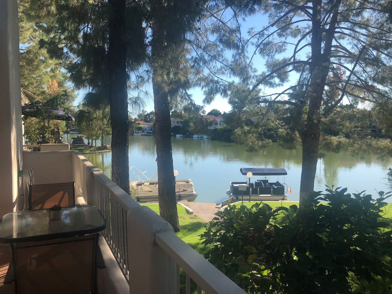 Lake views!