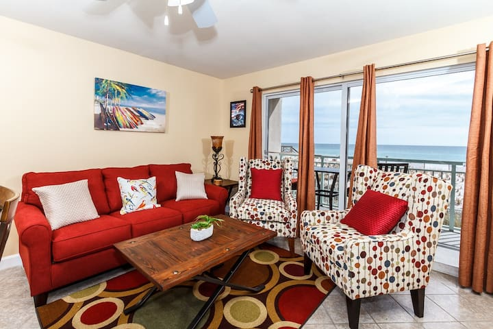 Beachfront Condo with Spectacular Beach Views! - Fort Walton Beach - Apartment