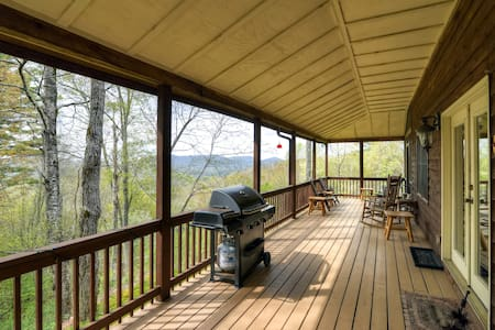 'Catspaw Cabin'- Dazzling 3BR Cullowhee House - Cullowhee - Dům