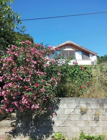 Çakraz'da Bahçe İçinde Çatı Kat