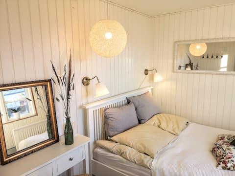 Hyggeligt sommerhus på 70 m2 ved Sunds Sø