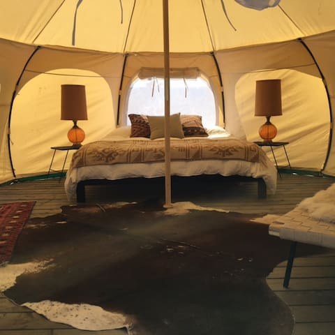 The Nomad (Sleeps 3) - Yucca Valley - Sátor