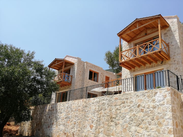 Next to Lycian way Villa Yoda upper room 1