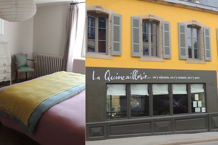 Ensuite room in a lovely old townhouse (ch.4) - Audierne - Bed & Breakfast