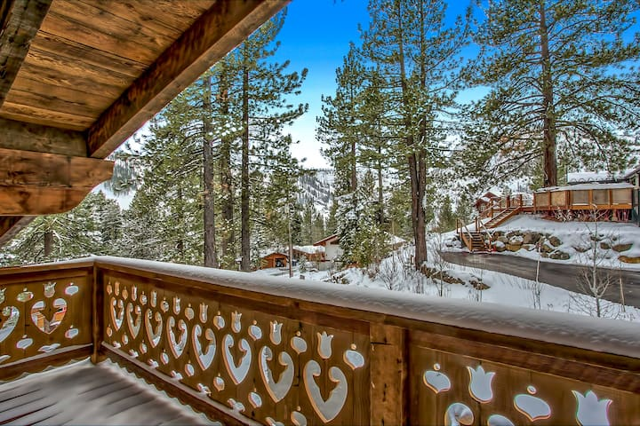 2 bdr Squaw Valley Chalet - Olympic Valley - Casa
