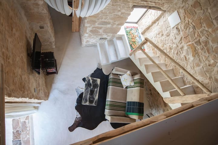 Romantic loft Curral, with spectaculair views