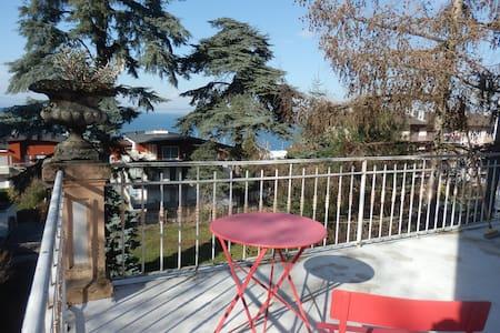 2 chambres terrasse privée vue Lac Léman et Suisse - Évian-les-Bains - Talo