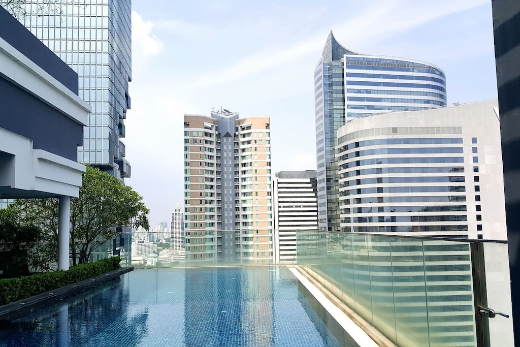 View from Lounging Area