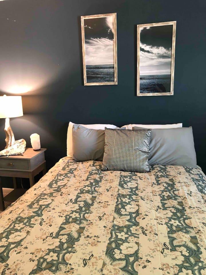 Bright, Boho, Beachy Townhouse Room