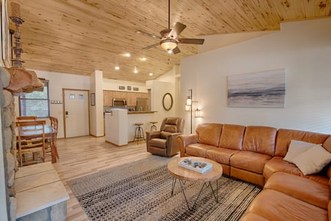NEW! 2 BR Cabin | Torreon Golf Club | The Red Roof