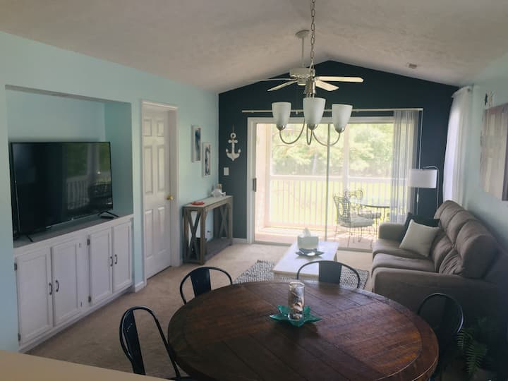 Golf & Beach Condo with Pool, Golf Clubs, & More!
