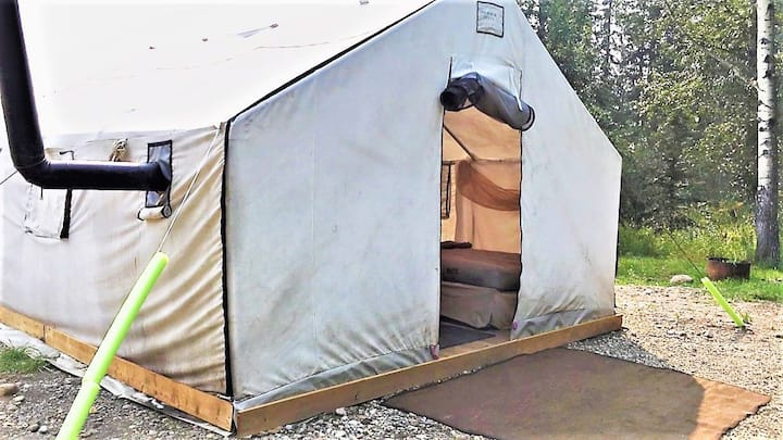 Winter Prospectors Glamping Tent