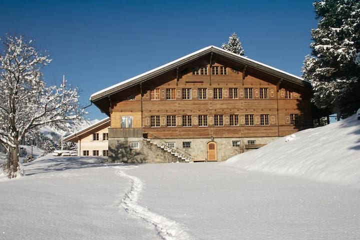 Skiing in the Alps - 4 Person Room - Adelboden