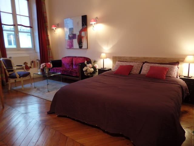 chambre d'hotes le chat perché - Lione - Bed & Breakfast