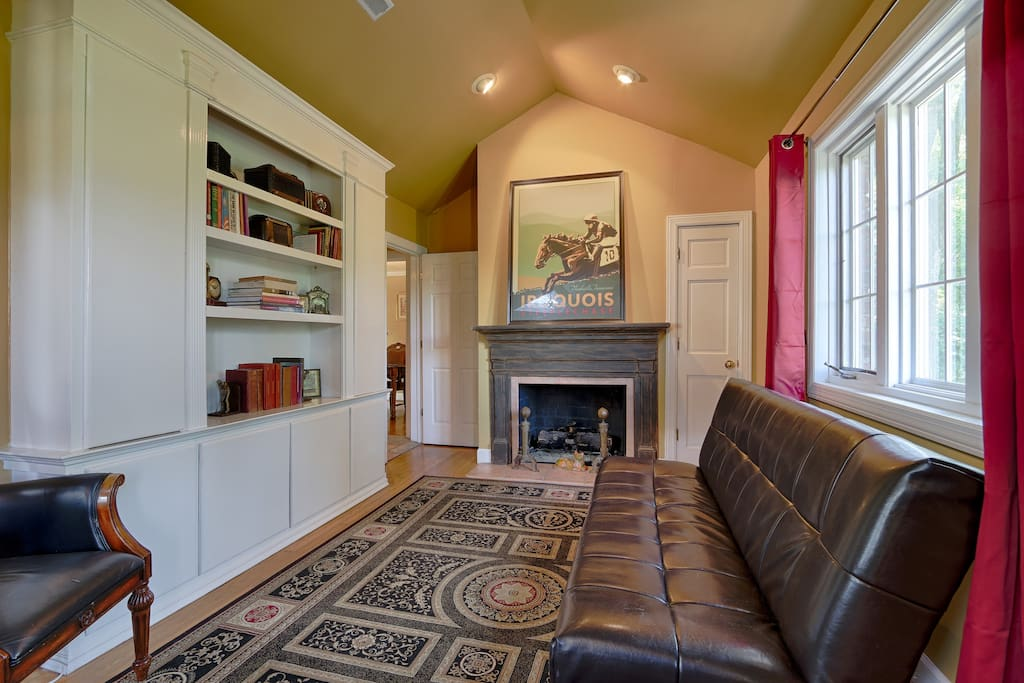 Master Suite Includes Fireplace