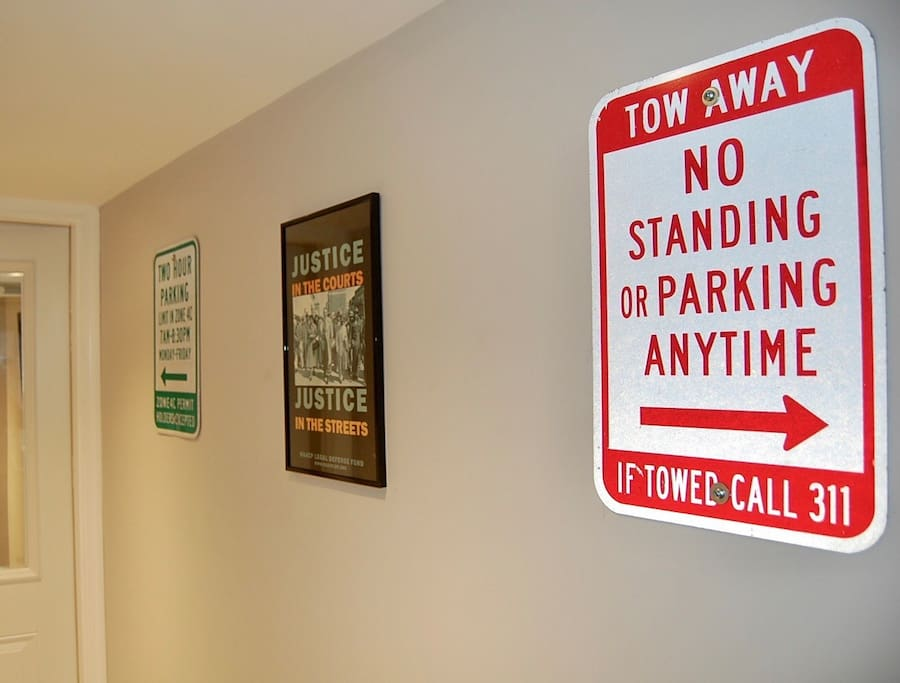 Wall Art and Posters in the mudroom