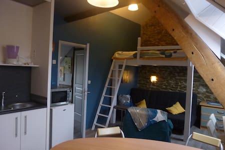 studio jouxtant  2 gîtes au Jardin - Sucé-sur-Erdre