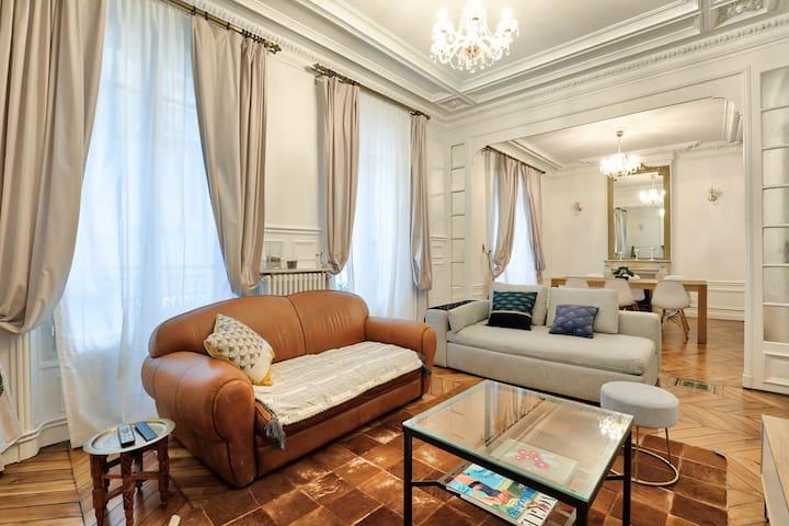 ♥ Apartment Haussmannien Center of Paris - 4P
