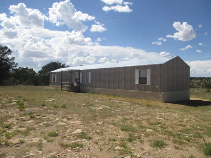 Double bed room D in trailer house