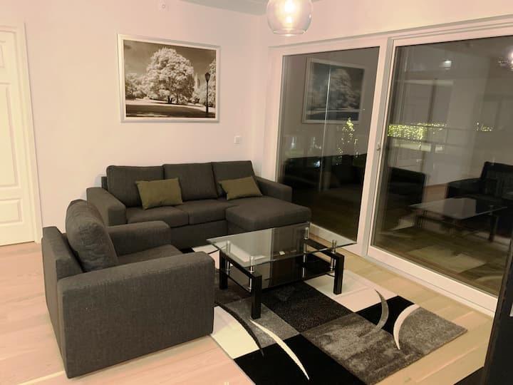Beautiful, brand new seaside apartment in Fornebu