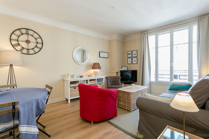Cosy/calm apartment with Parking - Paris-16E-Arrondissement - Lakás