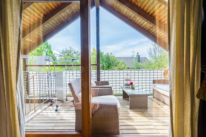 Ferien Apartment Maja 55 m² mit Balkon 10 m²