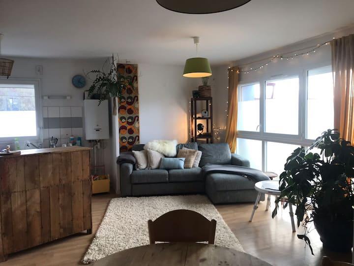 Appartement spacieux et confortable à  Hergnies