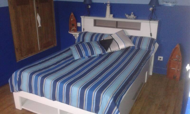 Chambre marine - Ferrals-les-Corbières - Bed & Breakfast