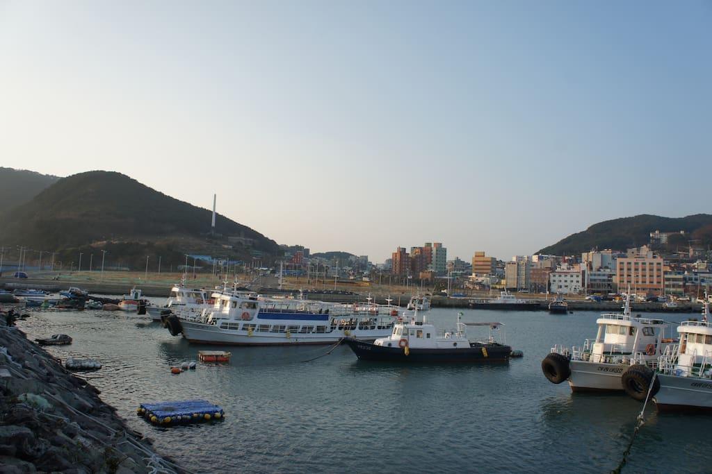 Hari, Yeoung-do is a beautiful little island in Busan