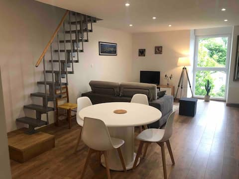 Appartement duplex sur l'axe Rennes/St-Malo