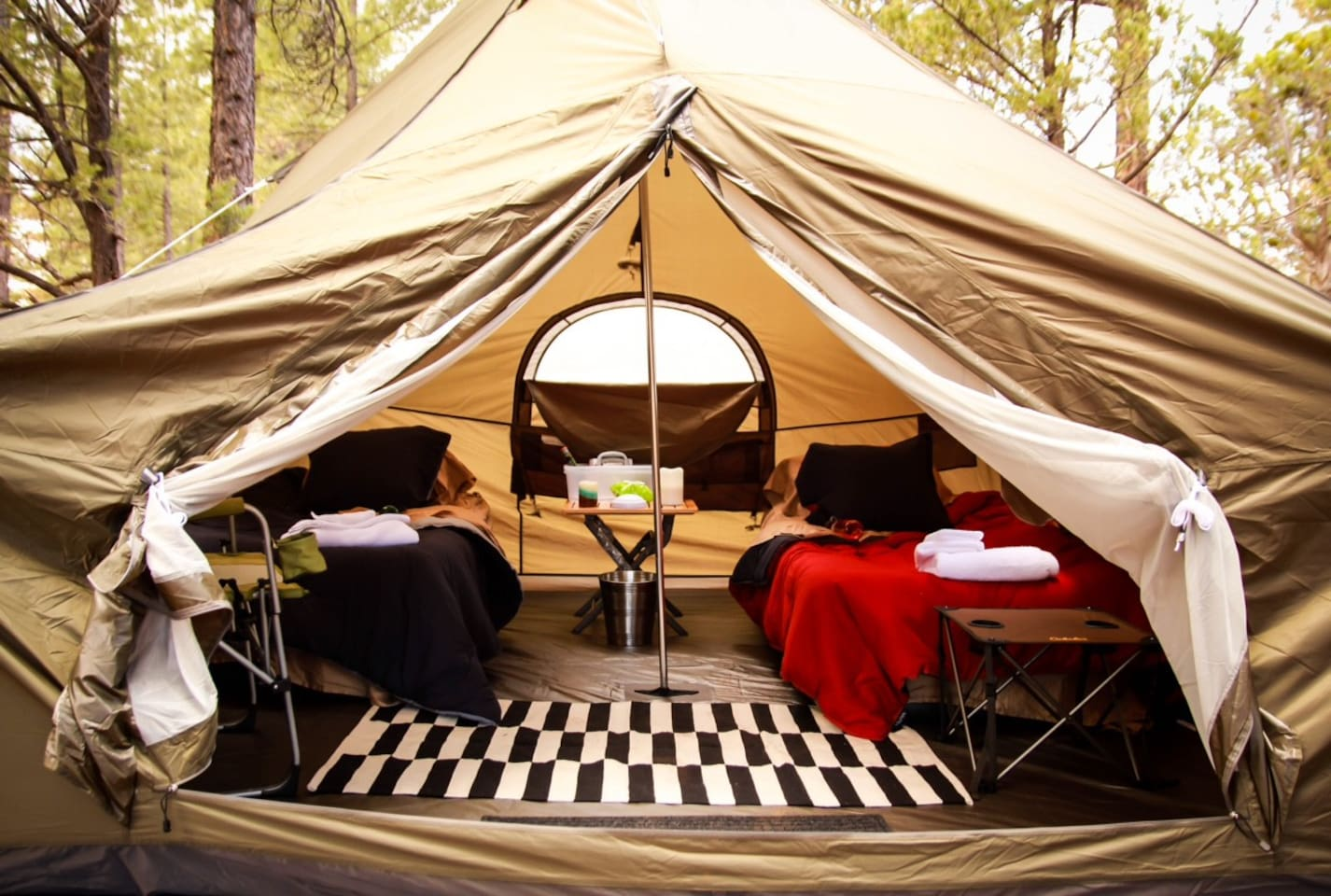 Spacious 8 person Expedition Tents utilized for a couple or kids