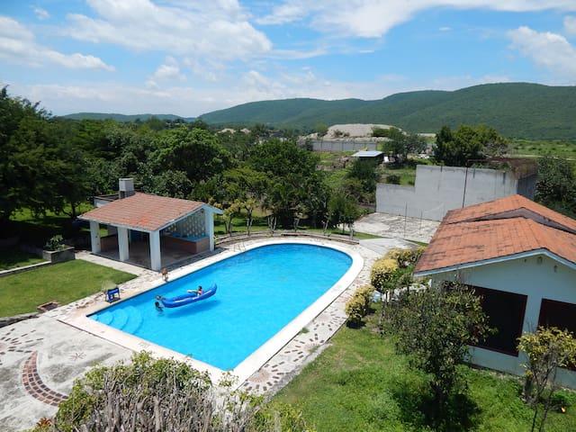 Acamilpa, Morelos hermosa Finca cerca de Hacienda