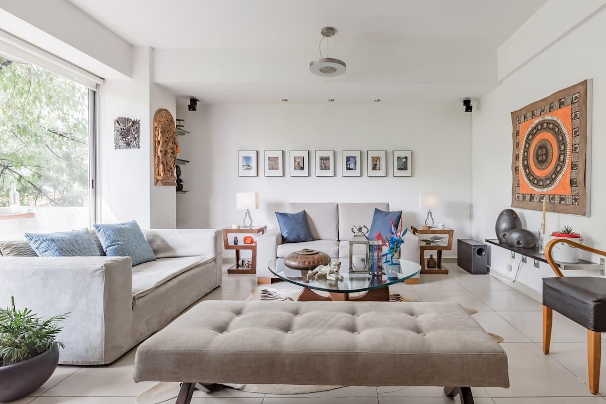 Disfruta de confortable Habitación en moderno Apartamento en la Ciudad de México